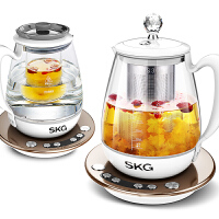 SKG8074 韩国设计隔水炖盅养生壶燕窝壶全自动加厚电玻璃多功能