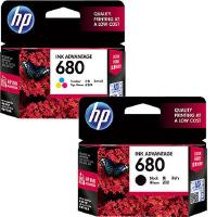 原装正品 惠普/HP 680(F6V26AA)黑色墨盒 (F6V27AA)彩色墨盒 惠普680 HP680 适用于惠普 DeskJet hp1115 1118 2135 2138 3635 3638 4678 喷墨打印机墨盒 墨水 原装惠普680墨盒