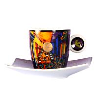 德国高宝Goebel进口欧式陶瓷咖啡杯碟套装