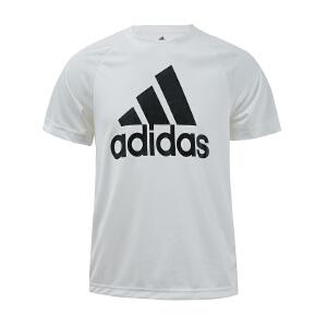 Adidas阿迪达斯 2017新款男子运动训练速干透气圆领短袖T恤 BK0936/BK0937/S98724/B47358