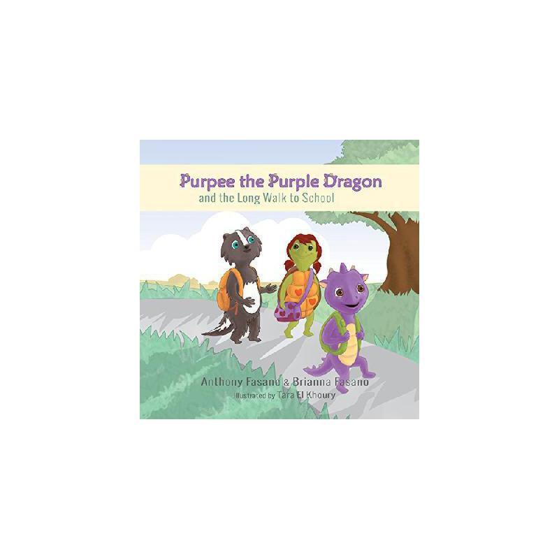 《【预订】Purpee the Purple Dragon and the L