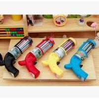 源动力 至尊宝可水洗水彩笔 玩具手枪12色水彩笔 儿童涂鸦绘画笔