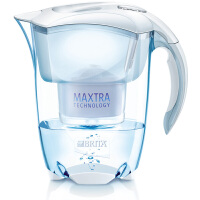 碧然德(Brita)净水器净水壶滤水壶滤水杯(Elemaris3.5L套装) 1壶1芯 白色