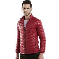AFSJEEP羽绒服战地吉普男式冬季超轻薄款外套红色羽绒服男9018
