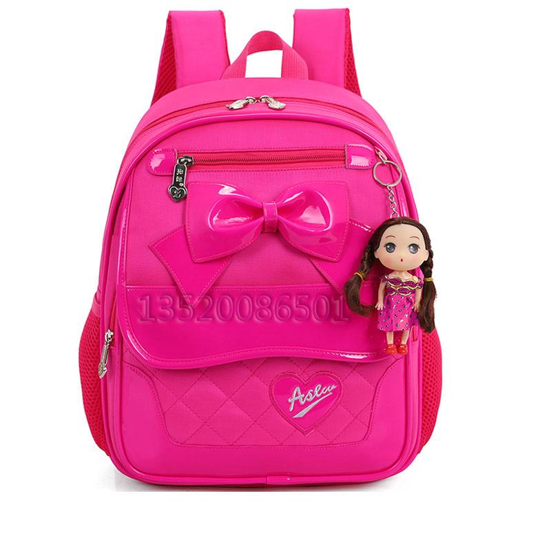 韩版6-8岁1-3一年级书包女孩子小学生女生小朋友可爱双肩儿童背包