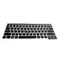 联想ThinkPad 14英寸专用键盘膜 凹凸带键位 对应功能键 E S X T系列 彩膜 黑色