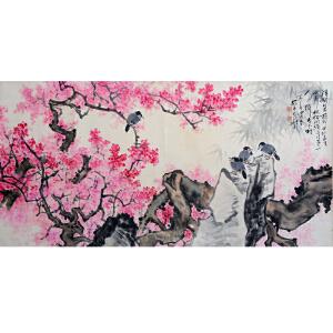 高冠华  花团锦簇