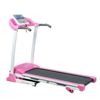 SUNNY家用静音跑步机健身器材可折叠跑步机 SF-P8700粉红色