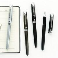 晨光全金属签字笔 办公文具中性笔0.5 商务珍品宝珠笔黑W5602