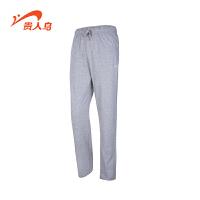 贵人鸟男装新款男士运动长裤 针织纯棉透气休闲时尚卫裤