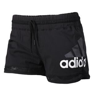 Adidas阿迪达斯女裤 2017夏季新款运动跑步训练透气短裤 BK5465