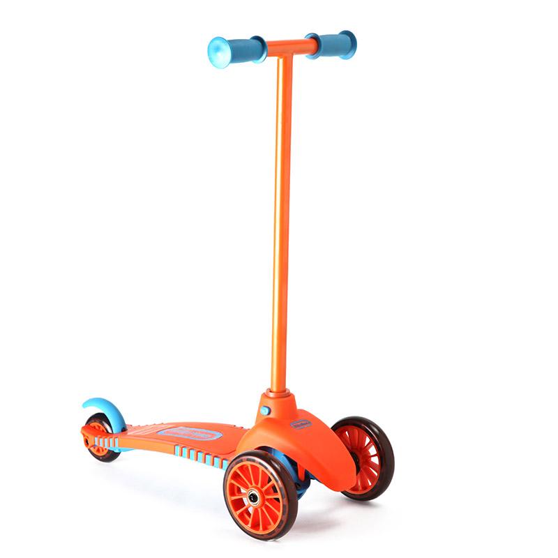 little tikes 小泰克 儿童三轮滑板车-橙色 485541pe