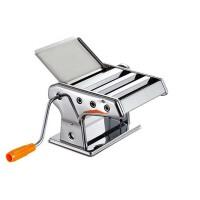手动不锈钢面条机  家用三刀小型压面机  饺子馄饨皮擀面机