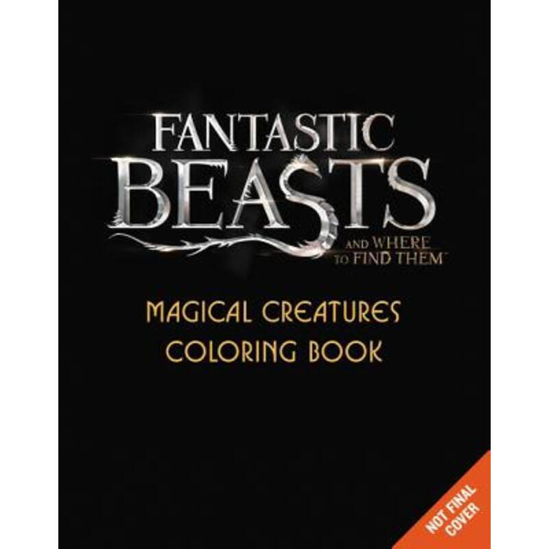 英文原版 神奇动物在哪里 fantastic beasts and where to find them