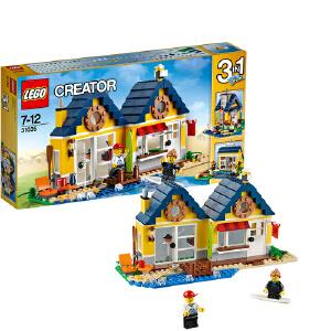 [当当自营]LEGO 乐高 CREATOR创意百变系列 海滩小屋 积木拼插儿童益智玩具 31035