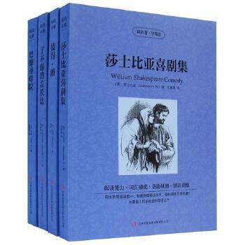 正版了不起的盖茨比+巴黎圣母院等读名著学英语全四册(英汉对