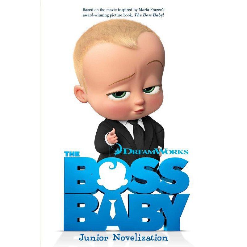 英文原版 宝贝老板 the boss baby junior novelization