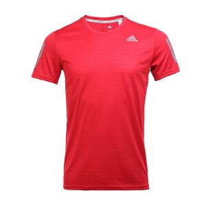 Adidas阿迪达斯 2017新款男子运动休闲跑步训练短袖T恤 BP7433