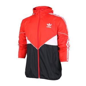 Adidas阿迪达斯 2017新款男子三叶草防风运动休闲夹克外套 BQ9231/BR9496