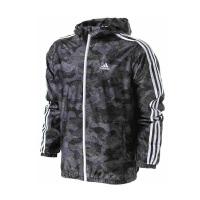 Adidas阿迪达斯 2017新款男子运动防风连帽风衣夹克外套 BK5529/BK5531/BK5532