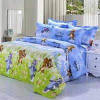 昭辰家纺床上用品+全棉套件+印花套件+卡通儿童+卡通四件套床单
