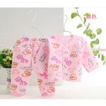 婴幼儿卡通居家套装  纯棉两件套