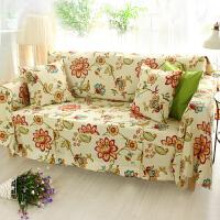 乐唯仕沙发套沙发罩夏季纯棉布艺垫欧式全包盖四季通用防尘巾定做