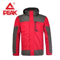 Peak/匹克户外风衣男装秋冬新品防风耐穿保暖运动外套F254011