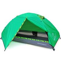 户外双层铝杆野外防暴雨帐篷露营野营套装单人帐篷
