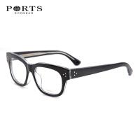 2015PORTS宝姿镜框潮 黑框大脸眼镜男款女士 近视眼镜框POM13205