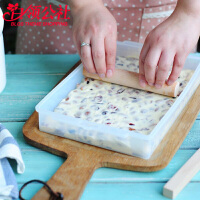 白领公社 烘焙工具 家用新手烘焙diy做牛轧糖用具套装擀面杖烘培生巧克力牛扎糖切割器模具硅胶厨具