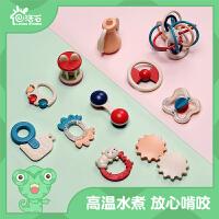 活石 婴儿玩具宝宝钢琴健身架手摇铃牙胶婴儿益智玩具0-1-3岁音乐脚踏运动健身器