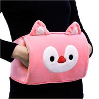 充电热水袋  注水电暖宝  电热宝暖手宝   毛绒腰带暖水袋暖腰宝