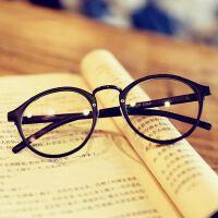 复古小清新圆形眼镜框 明星款眼镜架066小辣椒金属鼻梁眼镜