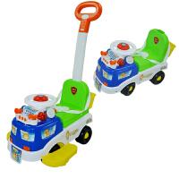 【当当自营】炫梦奇 儿童音乐滑行车小孩手推车学步车骑行车 扭扭车三合一 XMQ0623滑行车