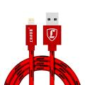 【可礼品卡支付+包邮】 LUOBR 1米苹果数据线 IOS编织数据线/充电线 iPhone6/6S/7 ipad充电器线 防缠绕 品质保证