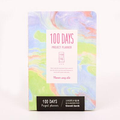 【当当自营】languo蓝果  LG-20070 色彩印象B 100天计划本 颜色图案随机 单个销售此商品为随 机发货,且为单只出售