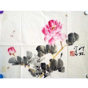 萧朗 花卉