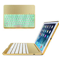ikodoo爱酷多 苹果iPad Pro9.7/iPad air2/air/新iPad A1822金属无线夜光蓝牙键盘保护套 ipad pro键盘保护套 ipad air2保护壳型 ipad pro 9.7英寸键盘套 2017新ipad保护套皮套